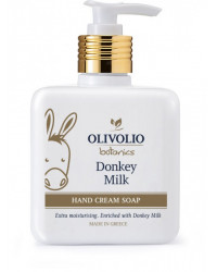 Donkey Milk Hand Cream Soap 300 мл | Olivolio