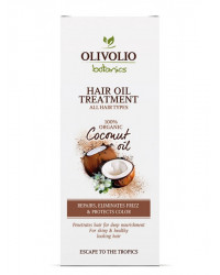 Hair Oil Treatment With 100% Organic Coconut Oil 90 мл | Olivolio