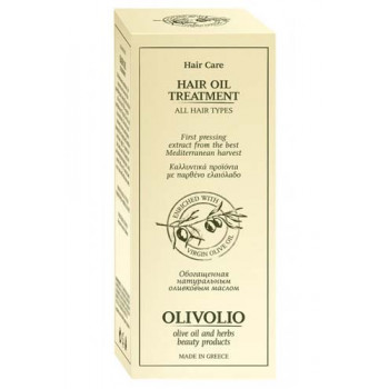 Hair Oil Treatment With Olive Oil 90 мл | Olivolio