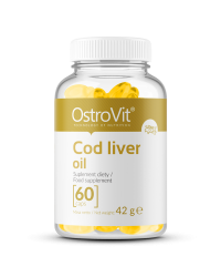 Cod Liver Oil 60 капсули | OstroVit