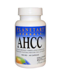 AHCC 500 мг 60 капсули I Planetary Herbals