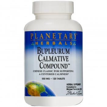 Bupleurum Calmative Compound 550 мг 120 таблетки | Planetary Herbals