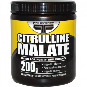 Citrulline Malate 200 гр I PRIMAFORCE