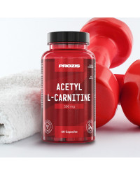 Acetyl L-Carnitine 500 мг 60 капсули | Prozis Sport