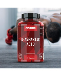 D-Aspartic Acid 1500 мг 60 капсули | Prozis Sport