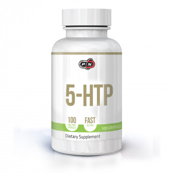 5-HTP 100 мг 100 капсули | Pure Nutrition
