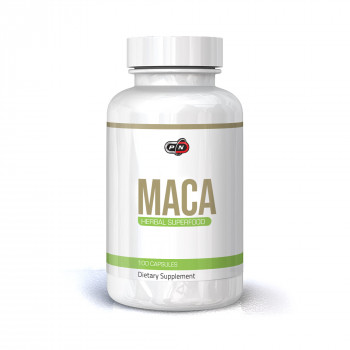 MACA 500 мг 100 капсули | Pure Nutrition