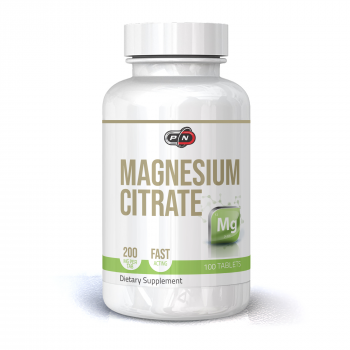 Magnesium Citrate 200 мг 100/200 таблетки | Pure Nutrition