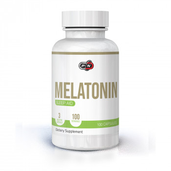 Melatonin 3 мг 100 капсули | Pure Nutrition