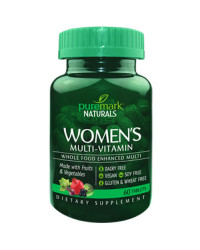 Women`s Multi-vitamin 60 таблетки | Puremark Naturals