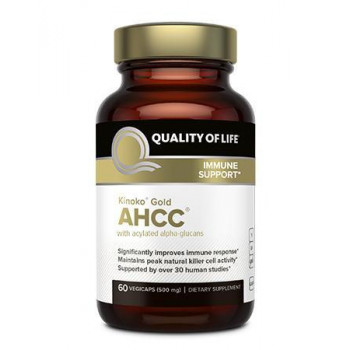 AHCC (Kinoko Gold) 500 mg 60 capsules | Quality of Life