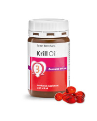 Krill Oil (Крил Ойл) 500 мг 90 капсули | Sanct Bernhard