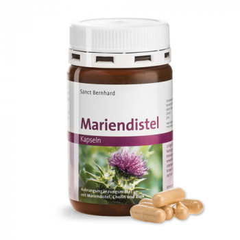 Milk Thistle 90 capsules | Sanct Bernhard