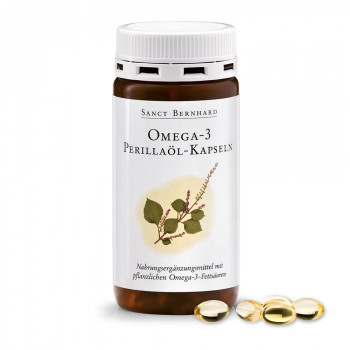 Omega 3 Perilla oil 150 капсули | Sanct Bernhard