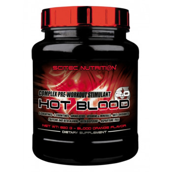 Scitec Nutrition Hot Blood 2.0 | 300/820 гр