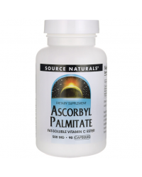 Ascorbyl Palmitate 500 мг 90 капсули | Source Naturals