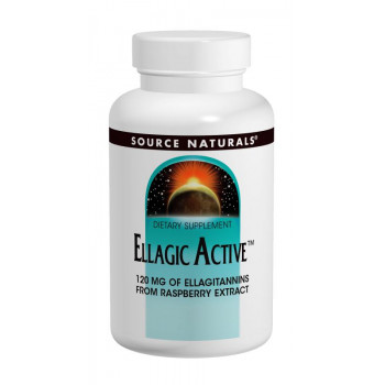 Ellagic acid 300 mg 60 tablets I Source Naturals