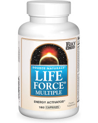 Life Force Multiple 180 капсули | Source Naturals