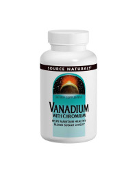 Vanadium with Chromium 90 Tablets Source Naturals