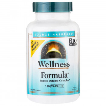 Wellness Formula 120 Capsules I Source Naturals