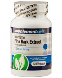 Maritime Pine Bark Extract 100 mg 120 veggie caps I Supplement Spot