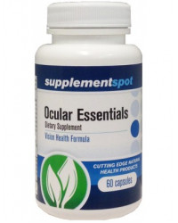 Ocular Essentials with Bilberry and Lutein 60 vegicaps I Supplement Spot