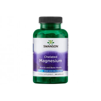 Albion Chelated Magnesium Glycinate 133 мг 90 капсули | Swanson