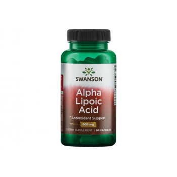 Alpha Lipoic Acid 600 мг 60 капсули | Swanson