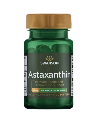 Astaxanthin - Maximum Strength 12 мг 30 дражета | Swanson