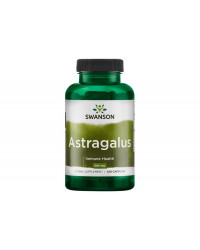 Astragalus (Standardized) 500 мг 120 Капсули | Swanson