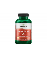 Avocado oil 1000 мг 60 гел-капсули | Swanson