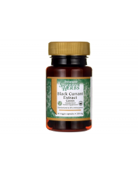 Black Currant Extract (Cassis) 200 мг 30 веге капсули | Swanson