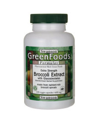 Broccoli Extract with Glucosinolates 120 капсули | Swanson