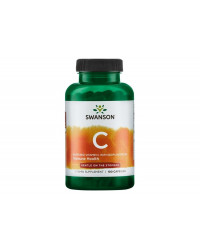 Buffered Vitamin C with Bioflavonoids 100 капсули | Swanson
