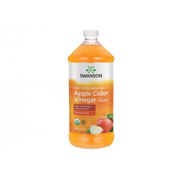 Certified Organic Apple Cider Vinegar with Mother 473 мл | Swanson