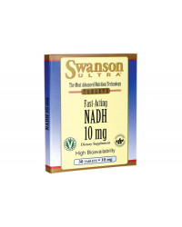 Fast-Acting NADH High Bioavailability 10 мг 30 таблетки за смучене | Swanson