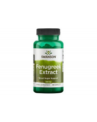 Fenugreek Extract 500 мг 90 капсули | Swanson