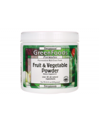 Fruit & Vegetable Powder 230 гр | Swanson