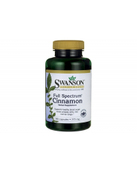 Full Spectrum Cinnamon 375 мг 180 капсули | Swanson