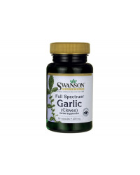 Full Spectrum Garlic 400 мг 60 капсули | Swanson