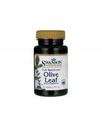 Full Spectrum Olive Leaf 400 мг 60 капсули | Swanson