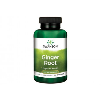 Ginger Root 540 мг 100 капсули | Swanson