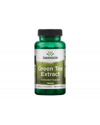 Green Tea Extract 500 мг 60 капсули | Swanson