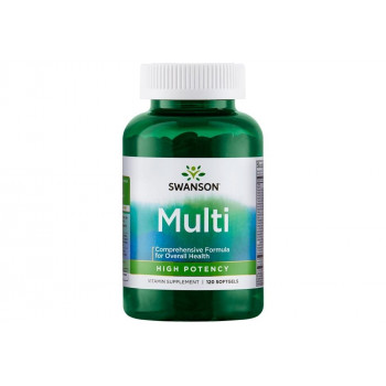 Highly Effective Multi Softgel Capsules 120 Софт Гел Капсули | Swanson