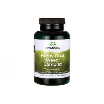 Horny Goat Weed Complex 120 капсули | Swanson