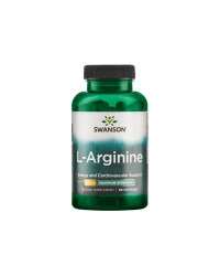 L-Arginine - Maximum Strength 850 мг 90 капсули | Swanson