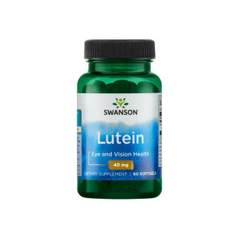 Lutein 40 мг 60 гел-капсули | Swanson
