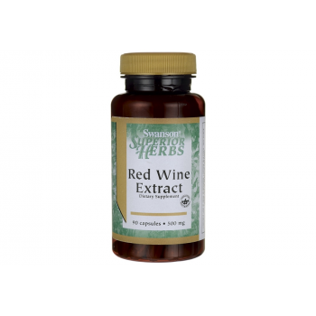 Red Wine Extract 500 мг 90 капсули   Swanson