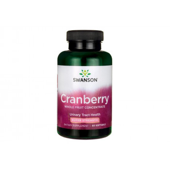Super Strength Cranberry Concentrate 60 гел-капсули | Swanson