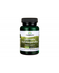 Ultimate Ashwagandha KSM-66 250 мг 60 Веге Капсули | Swanson